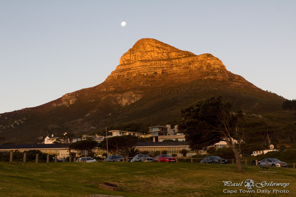 Sunset Lion's Head