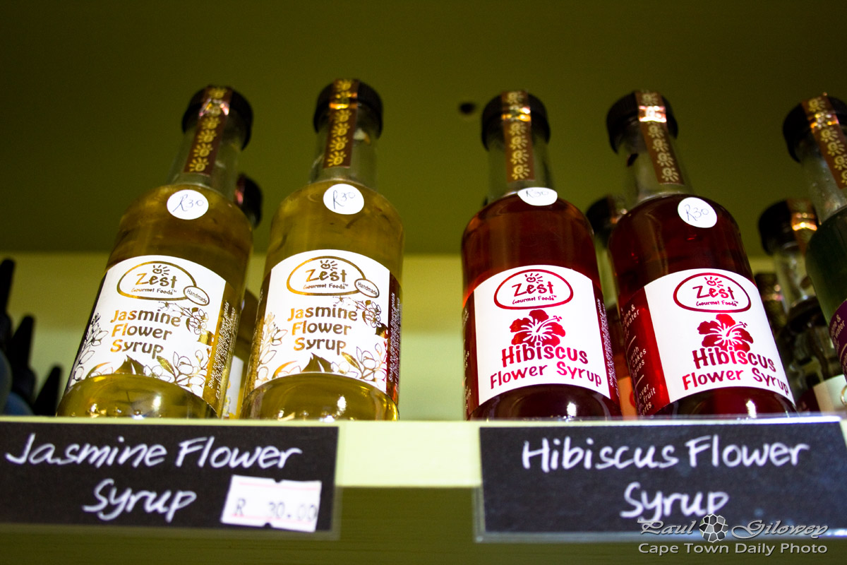 Flower syrup at Delvera