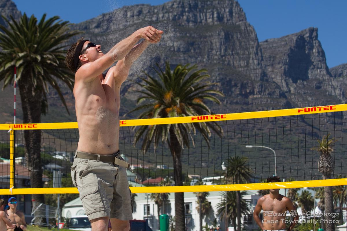 Camps Bay volleyball last summer