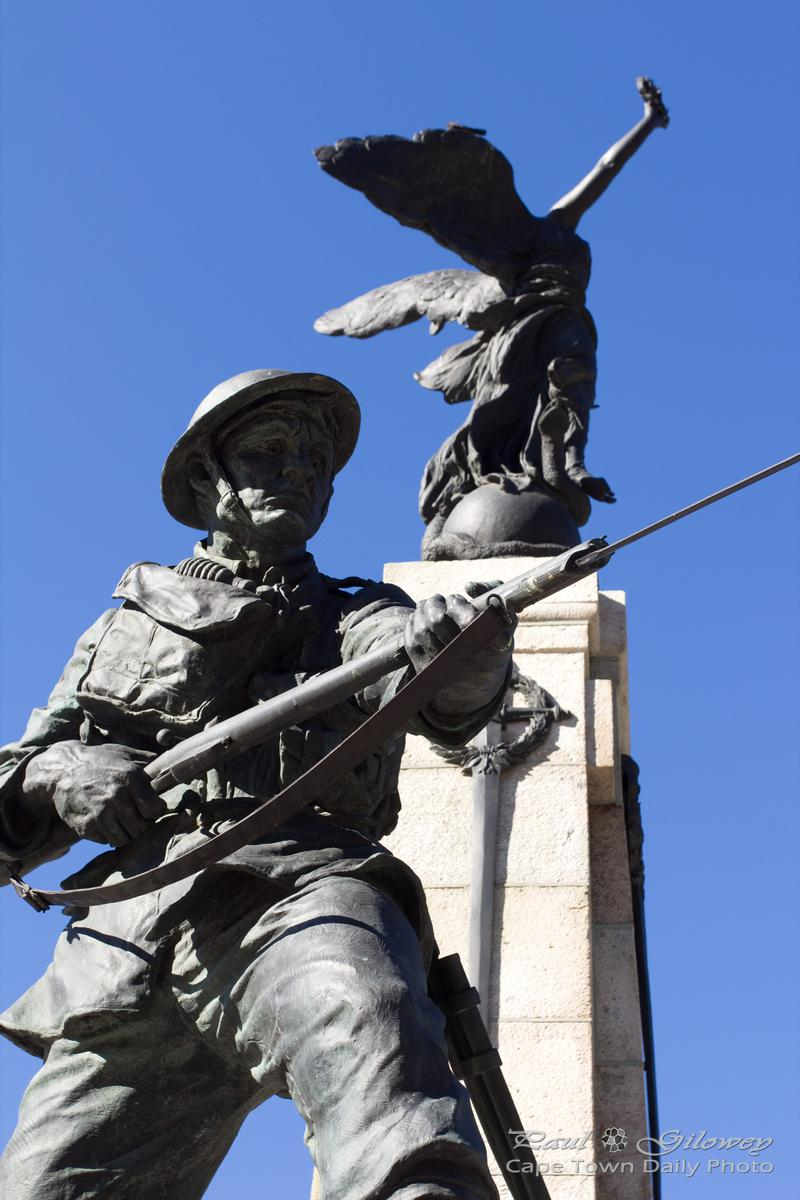 Cape Town's Winged Victory at the Cenotaph