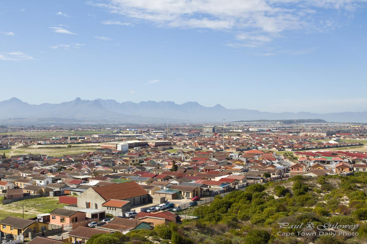 Khayelitsha from Lookout Hill
