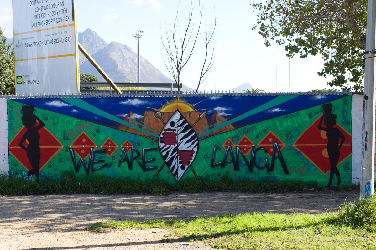 Langa's graffiti 6#6 - We are Langa, we are the sun