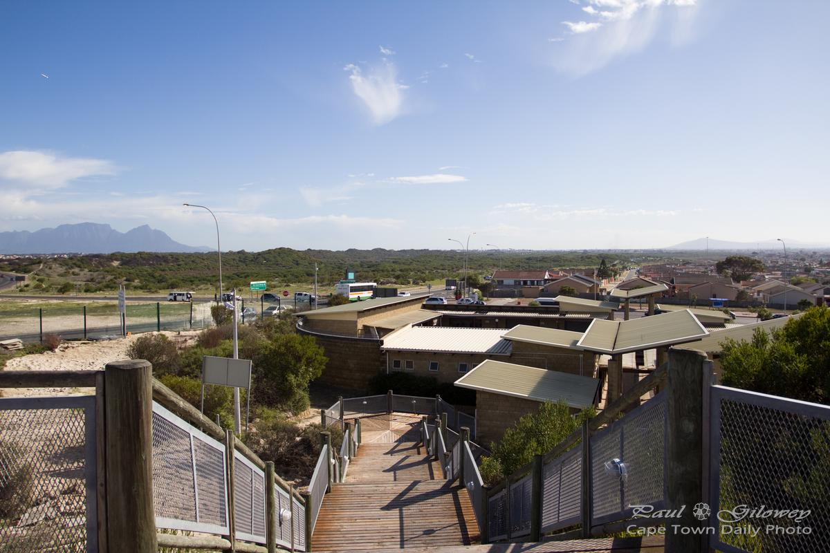 The lookout deck on Khayelitsha's Lookout Hill