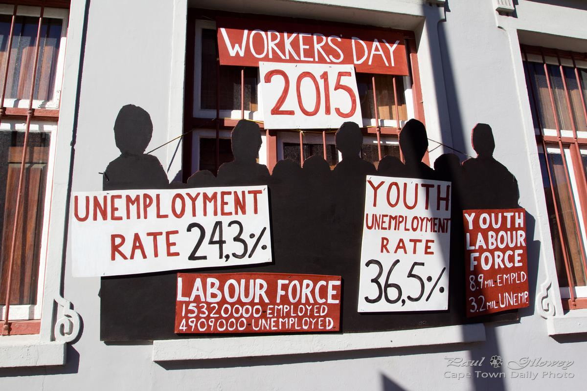 1 May is Worker's Day in Cape Town