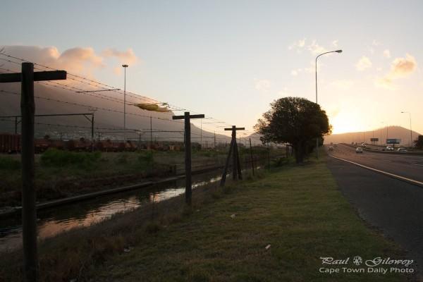 Inbound N1 sunset