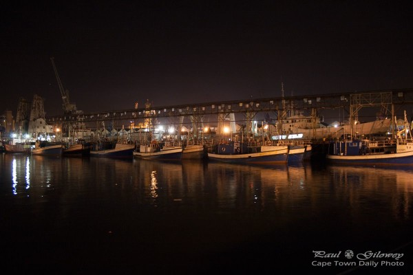 Fishing boats of Table Bay Harbour