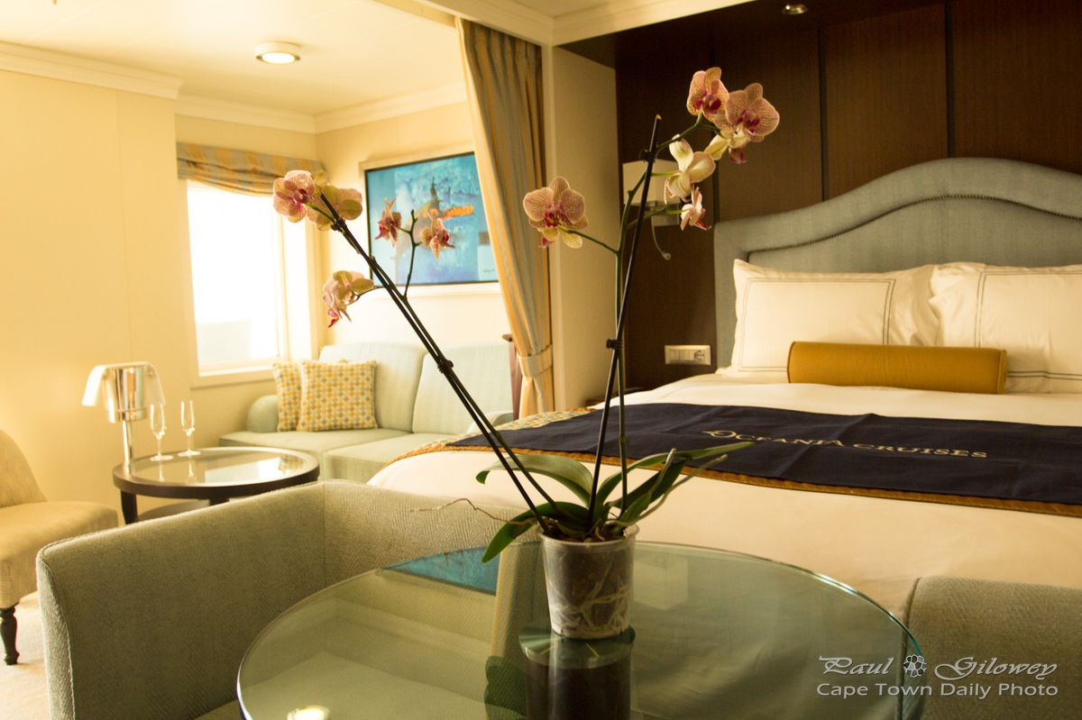 A room on the Oceania Marina