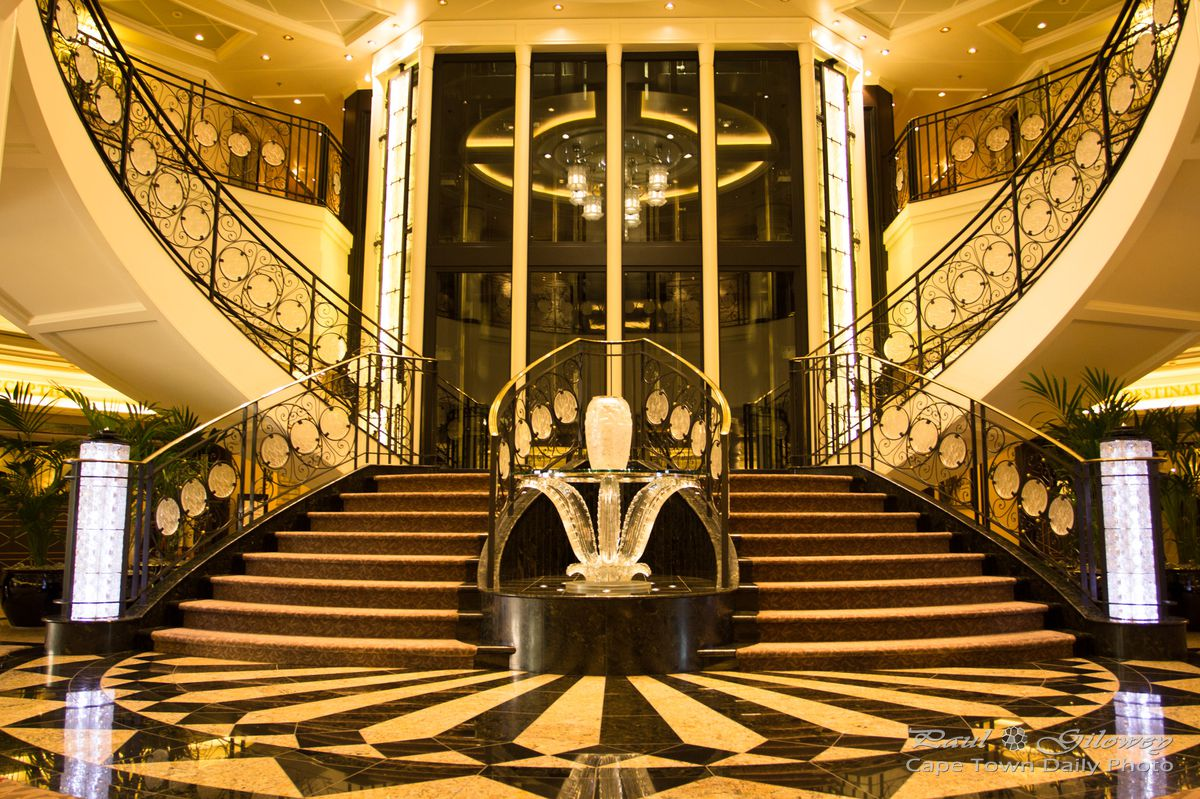 Take A Look Inside Oceanias Marina Cruise Ship Cape Town Daily - Pictures of the inside of a cruise ship