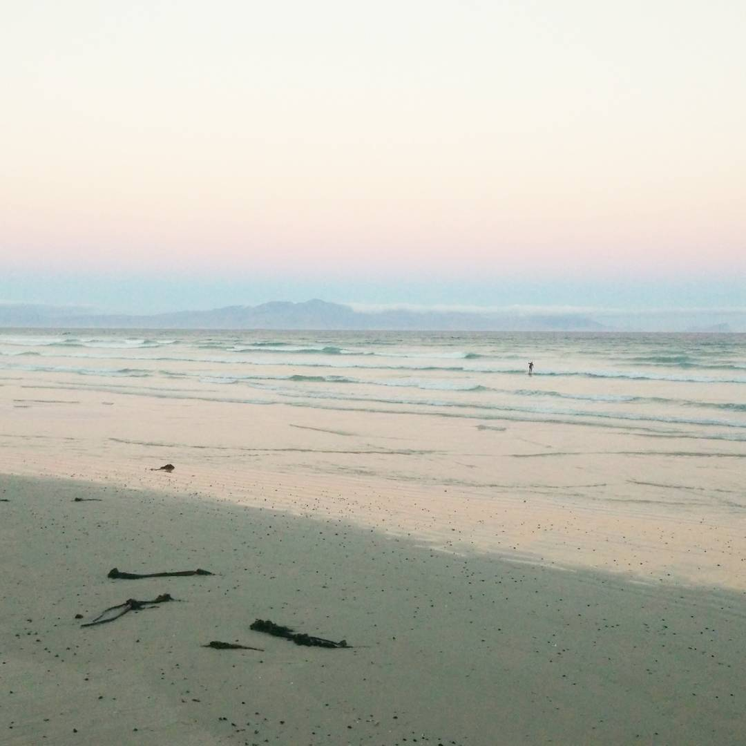 Muizenberg has really pretty winter sunsets